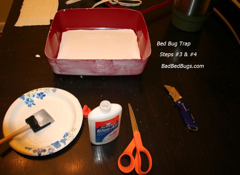 Bed bug traps make your own detector or trap for under 10 bed bug trap step 3 and 4 ccuart Choice Image