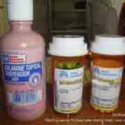These medicines and tropical location were prescribed for bed bug bites